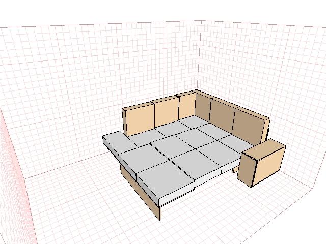 Как сделать угловой диван своими руками в домашних условиях 13