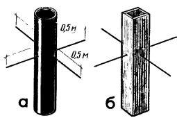 Рис. 4. Крепление вентиляционной трубы (а) и короба (б) при помощи арматуры