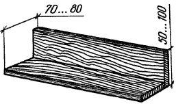Рис. 10. Полочка под гнездо ласточек и стрижей