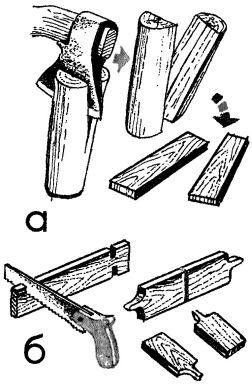 Рис. 2. Изготовление мотовильца с иглой для челнока