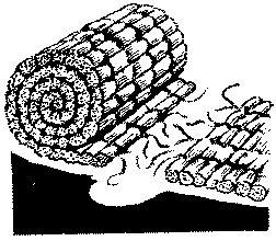 Рис. 8. Формирование из матов длинной дорожки