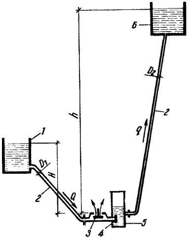 Рис. 1. Общий вид таранной водоподъемной установки