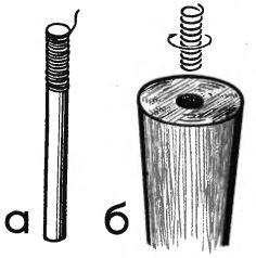 Рис. 1. Ремонт ножек табуретки