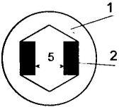 Рис. 1. Гитарный ключ из накидного