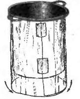 Рис. 4. Изготовление полиэтиленового «горшка»