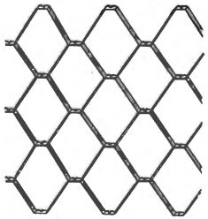 Рис. 2. «Сетка» из кипной металлической полоски