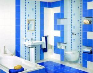 Керамическая плитка для ванной комнаты