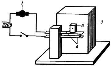 Рис. 1. Устройство для периодического включения и выключения вентилятора