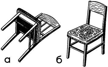 Рис. 3 Крепление мягкого сиденья на рамке
