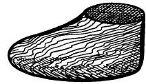 Рис. 3. Колодка деревянная