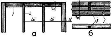 Рис. 6. Крепление потолочных балок