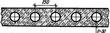 Рис. 1. В бетонном перекрытии есть каналы
