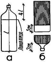 Рис. 3. Так готовят бутылку «под букет»