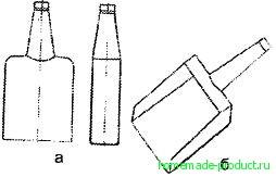 Рис. 6. Совок из бутылки