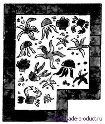Рис. 1. Мозаичный пол
