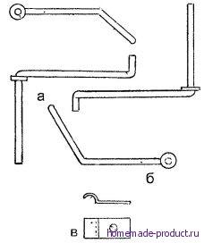 Рис. 13. Подставки для катушек