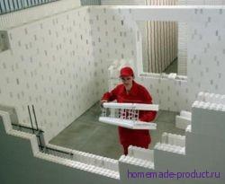 Строительство коттеджей из полистирольной опалубки
