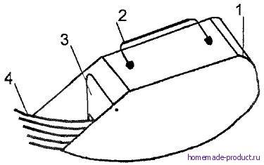 Рис. 1. Типовой комбайн для сборки брусники