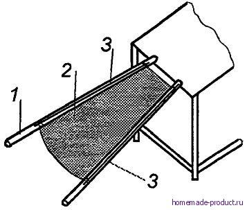Рис. 4. Устройство для очистки брусники от мусора