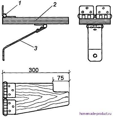 Рис. 2. Конструкция кронштейна