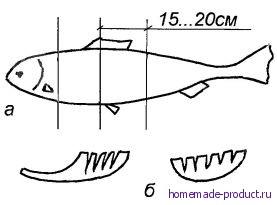 Рис. 2. Подготовка рыбы для балыка