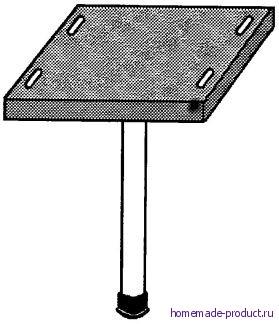 Рис. 1. Одноногий стул