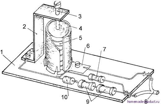 Рис. 4. Конструкция зарядного устройства