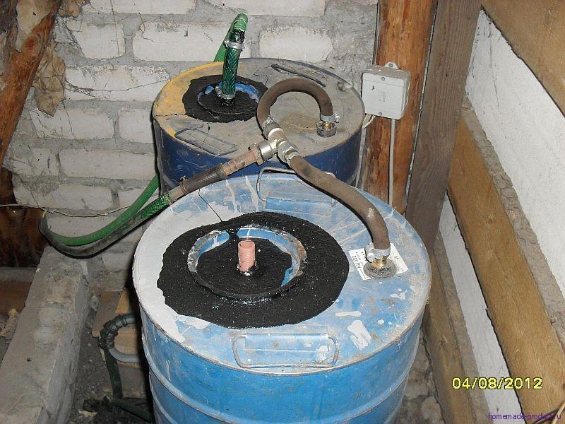 Как сделать горячую воду своими руками на даче