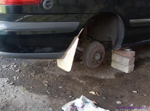 Делаем брызговики для любой модели автомобиля
