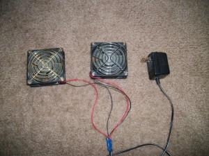 Компьютерные вентиляторы в качестве сушки обуви