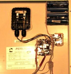 Расположение компонентов зарядного устройства