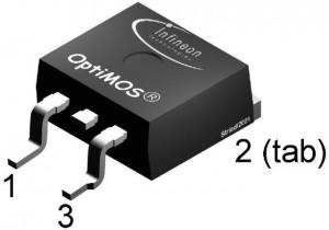 Полевой транзистор блока АКБ