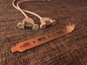 USB гнезда от системного блока ПК
