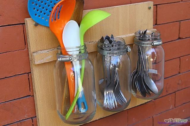 Держатель для посуды готов