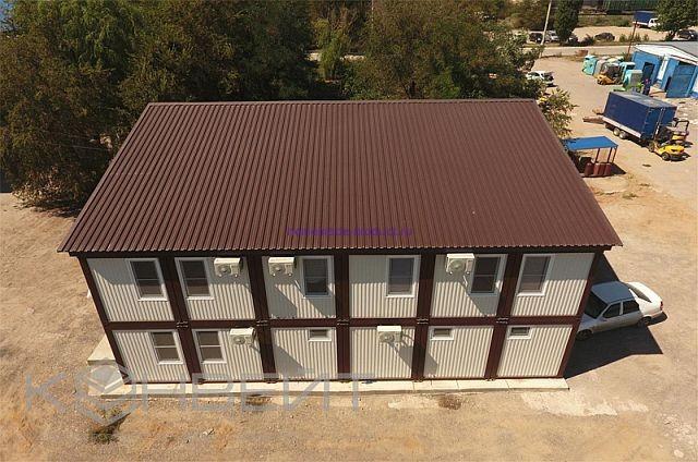 Офисные здания из блок контейнеров КОНВЕЙТ