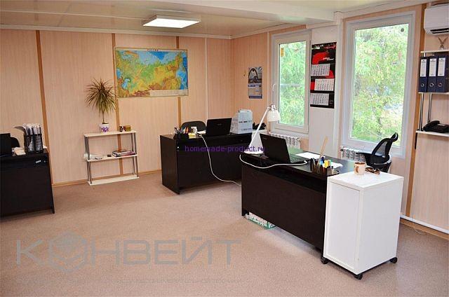 Отделка офисного здания модульного типа КОНВЕЙТ